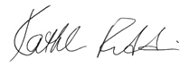 harry kalashian signature
