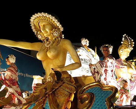 Panama's carnaval epicenter in Las Tablas