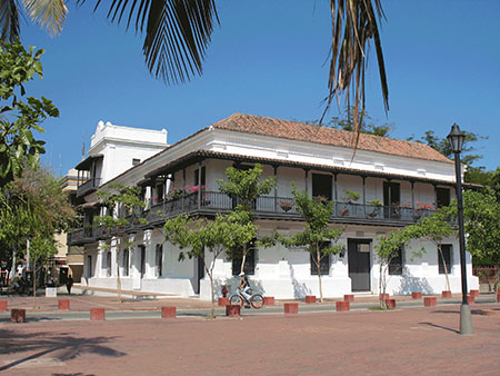 Well-kept parks and fine colonial buildings are the Santa Marta of today
