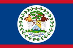 Belizean national flag