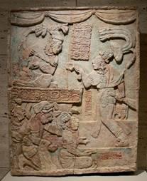 Ancient Mayan artwork