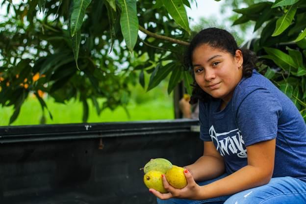A young Belizean entrepreneur