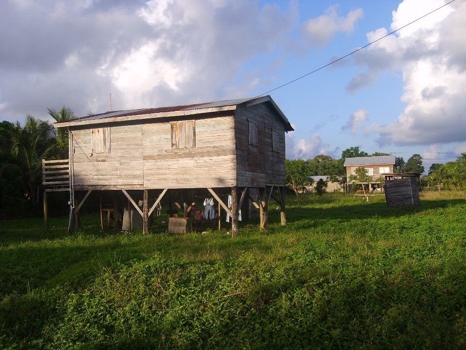 house in belize