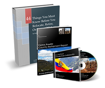 Live & Invest in Ecuador Home Conference Kit