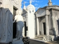 Statues in the Recoleta Cemetery, Buenos Aires