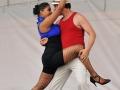 Argentinian Tango dancers strike a pose.