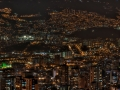 Medellin, Colombia by night.