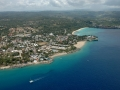 Aerial view of Sousa, Dominican Republic.