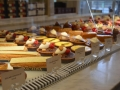 French pastries in a local bakery.