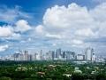 City skyline, Taugig city, Philippines.