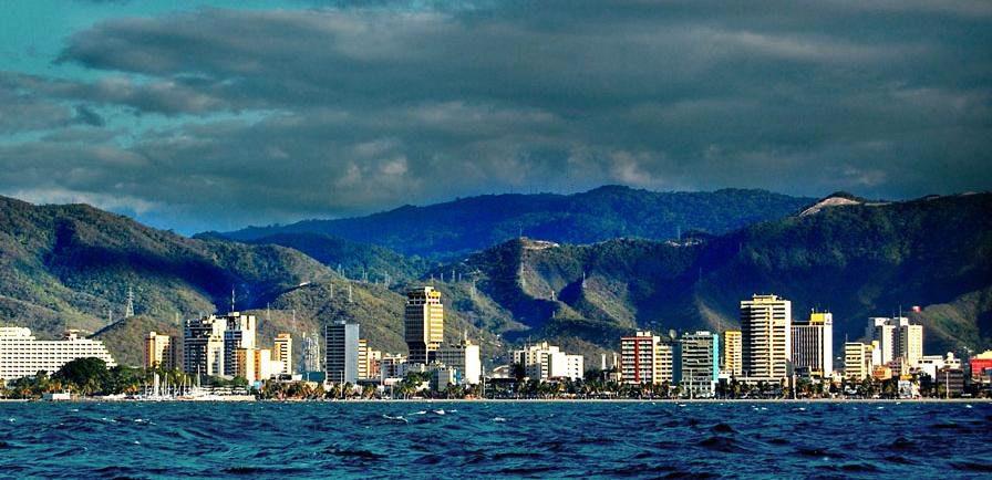 Puerto La Cruz is one of the main tourist attractions in Venezuela.