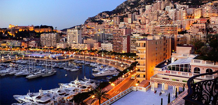 Monaco offers the highest quality of living, shopping, everything..