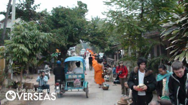 laos streets
