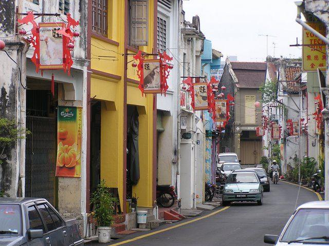 Chinese shophouses, Melaka