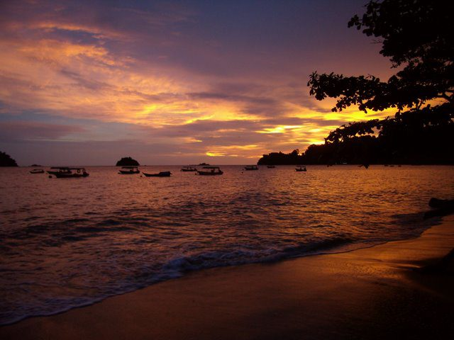 Sunset on Nipah Bay, Pulau Pangkor