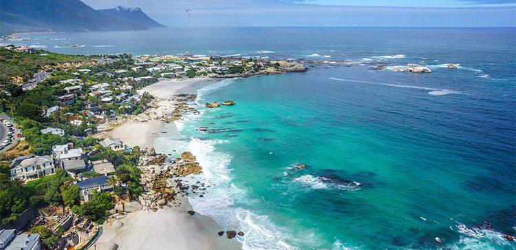 Clifton Beach, in Cape Town, South Africa