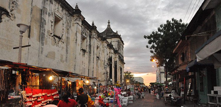 Leon is the second largest city in Nicaragua.