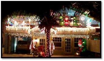 San Pedro Town Christmas Decorations