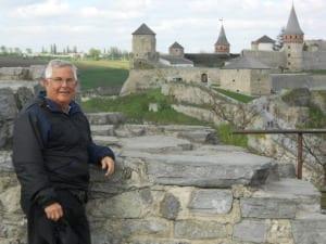 Paul Terhorst in Lviv, Ukraine