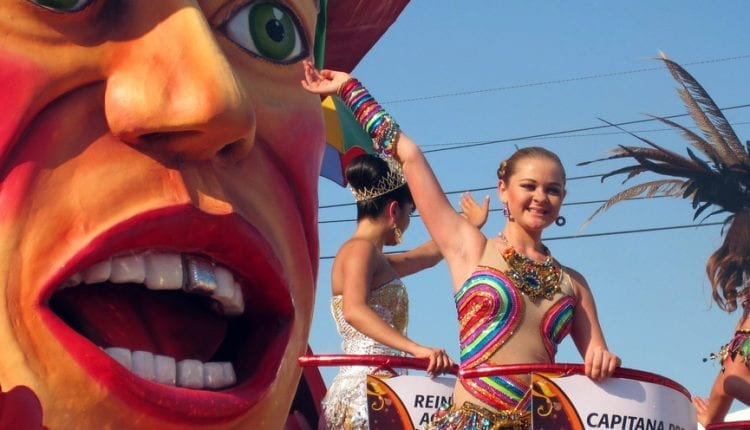 The carnival in Barranquilla is a spectacle for all your senses.