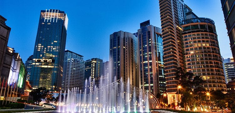 Kuala Lumpur Is a great example of great city living in southeast asia.
