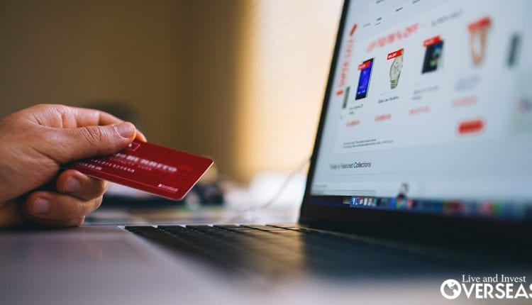 Using a credit card overseas