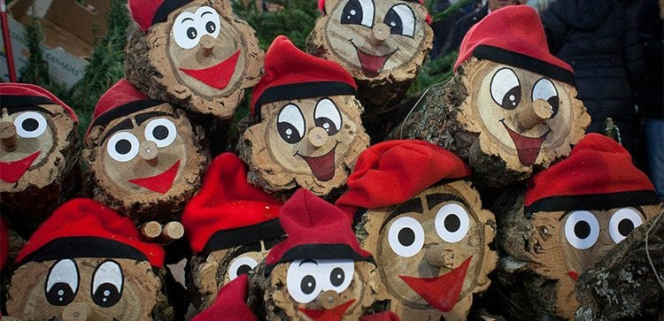 Catalan Christmas Traditions go the funny side with Tió de Nadal.