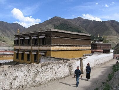 Retirement in Asia - Xiahe Monastary