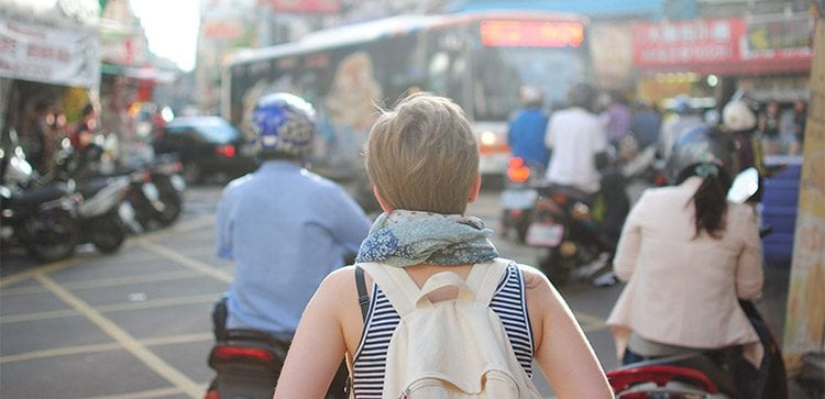 Expat communities or going local?