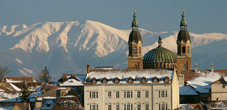 The cathedral of Sibiu is one of the main attractions of this beautiful city,