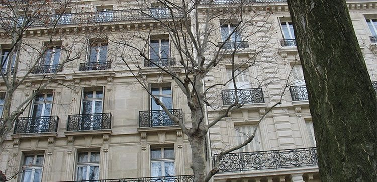 One of the apartment residences in the 12th district of Paris.