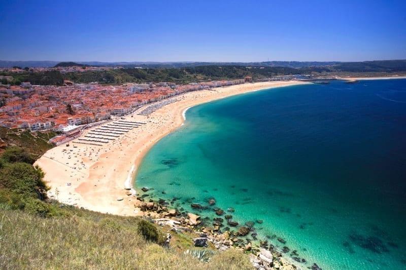 Nazaré beach resort, Estremadura, Portugal