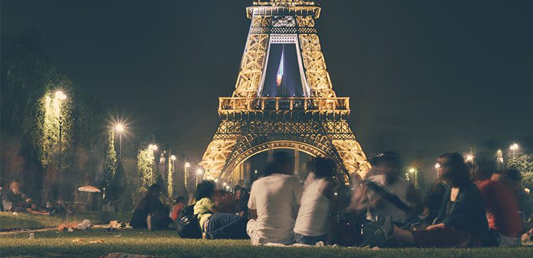 The Eiffel tower is a great perk of Retiring To Europe