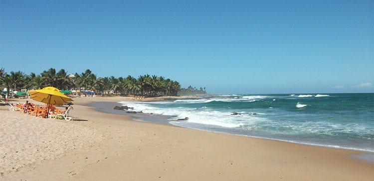 Pristine Beaches like this for a small Property Investment brazil