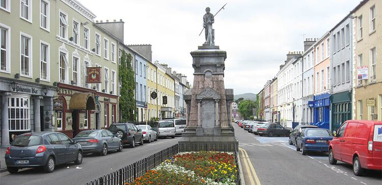 Downtown View Of Tralee - Retirement In Tralee Ireland