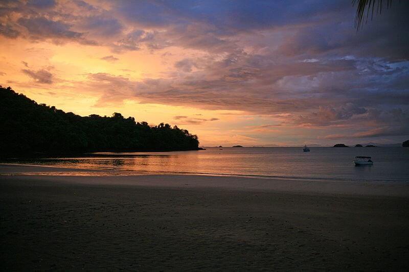Coiba Sunset