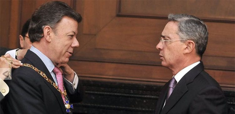 President Santos And Uribe Have many similarities for Colombian Politics
