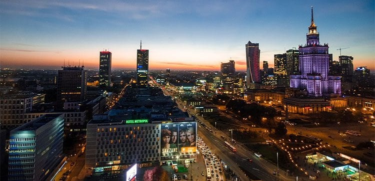 The beautiful city Of Warsaw and many other sights make for excellent reasons to Travel In Poland