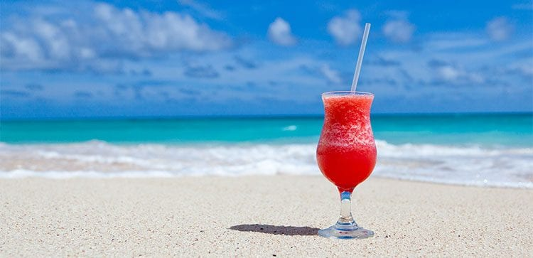 A margarita on the beach might or not might be included in your Budgets For Retiring