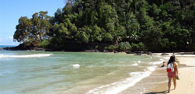 Best known beaches in Panama for white sand include Bocas del Toro.