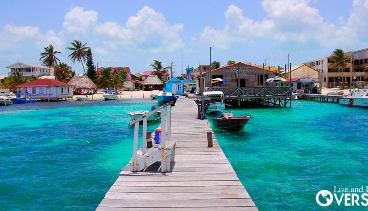 English speaking Belize and pristine beaches Belize