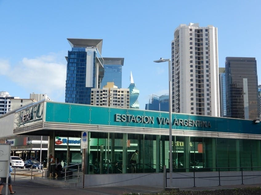 Via Argentina metro station, Panama