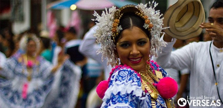 Christmas Eve in Panama is celebrated on the streets