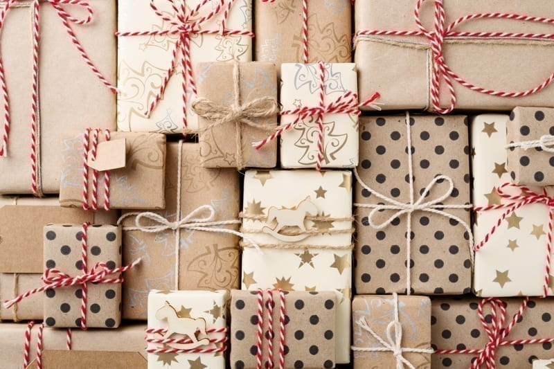 Homemade gift boxes in Boxing Day