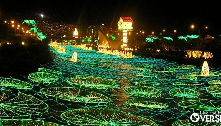 The Christmas Festival of Lights in Medellin, Colombia