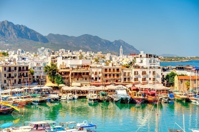 Kyrenia or Girne, Northern Cyprus
