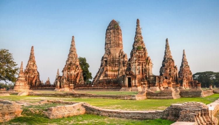 Ancient Nuddhist temples in Thailand