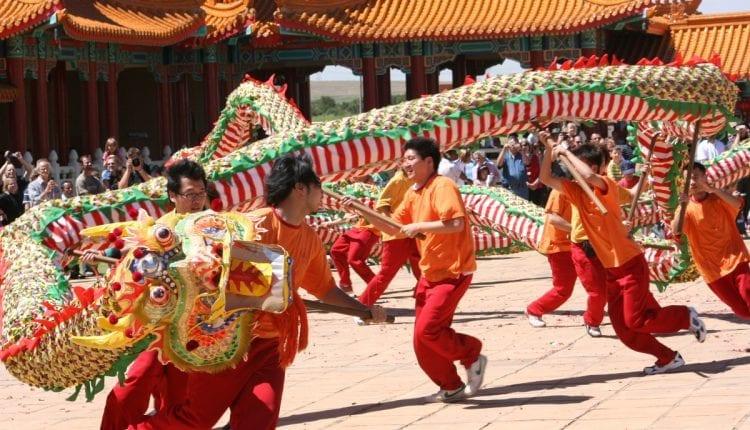 Chinese New Year In Kunming China