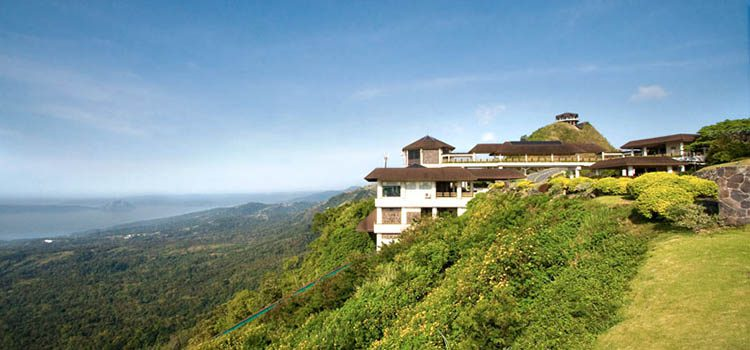 Hillside home on the edge of a mounain in Tagaytay