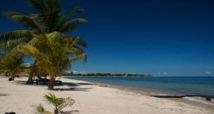 White-sand beach, Belize